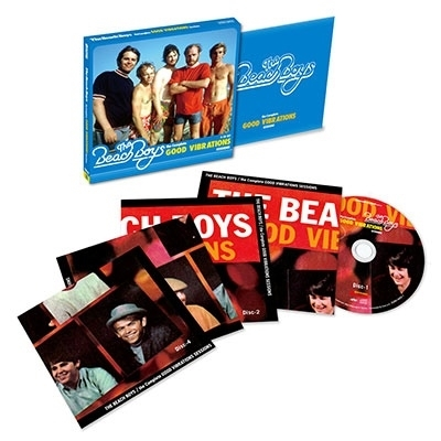 the Complete GOOD VIBRATIONS SESSIONS (4CD)
