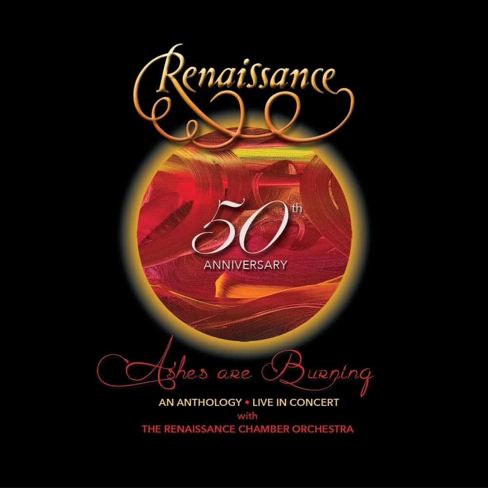 50th Anniversary Ashes Are Burning – An Anthology – Live In Concert, 2CD, DVD & Blu Ray Box Set