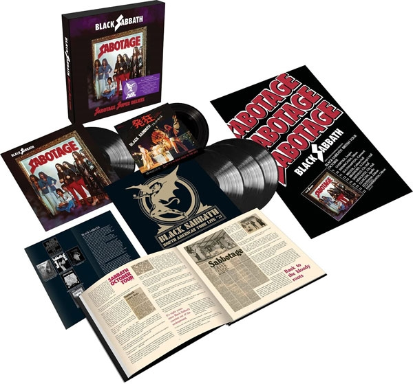 "Sabotage (4LP + 7"" Single Super Deluxe Box Set) [VINYL] 7"" Box Set"