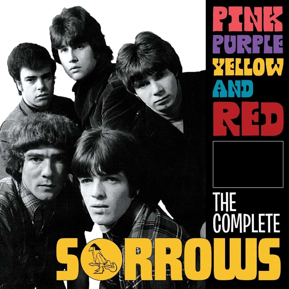 Pink Purple Yellow and Red – The Complete Sorrows (4CD)