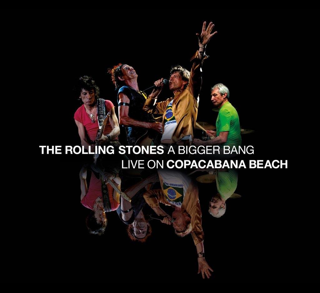 A Bigger Bang - Live on Copacabana Beach (2CD)