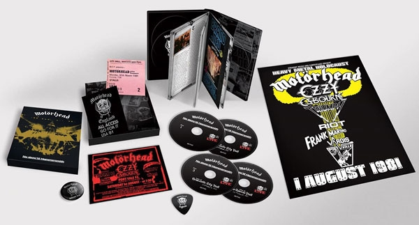 No Sleep 'Til Hammersmith 40th anniversary deluxe edition