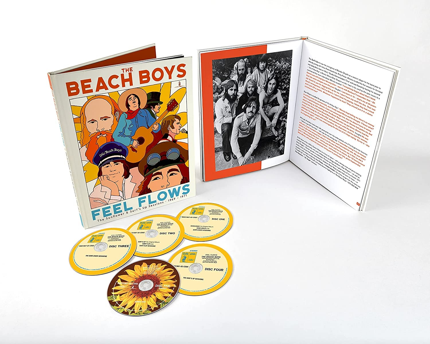 Feel Flows: The Sunflower & Surf's Up Sessions 1969-1971(2CD)