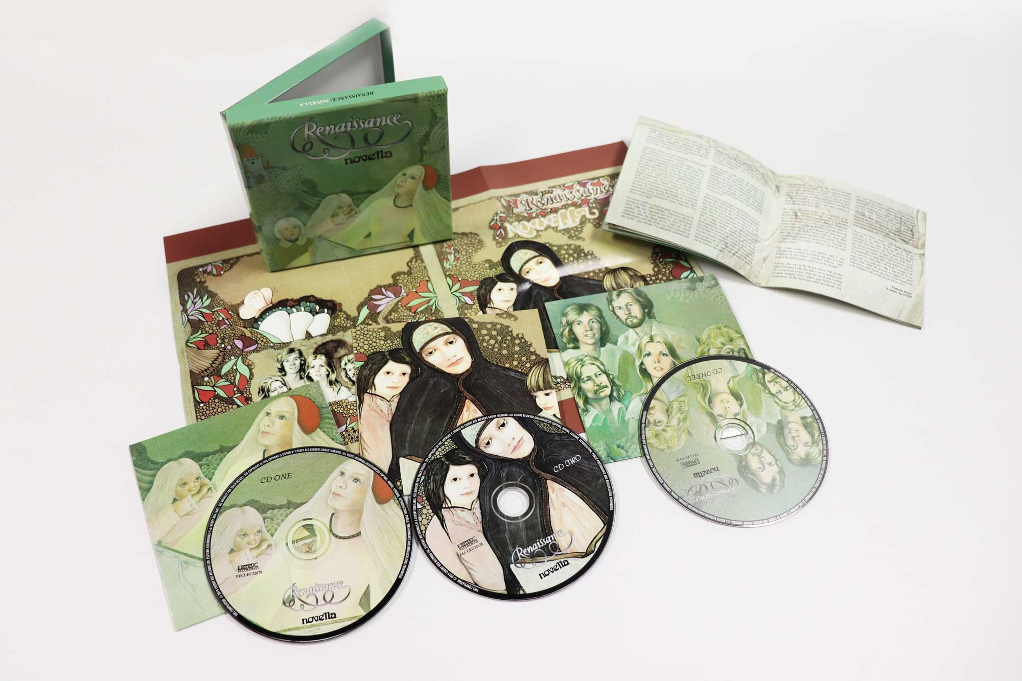 Novella, 3CD Remastered and Expanded Edition