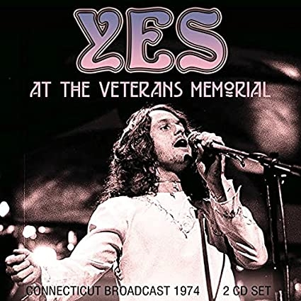 at The Veterans Memorial Radio Broadcast New Haven 1974
