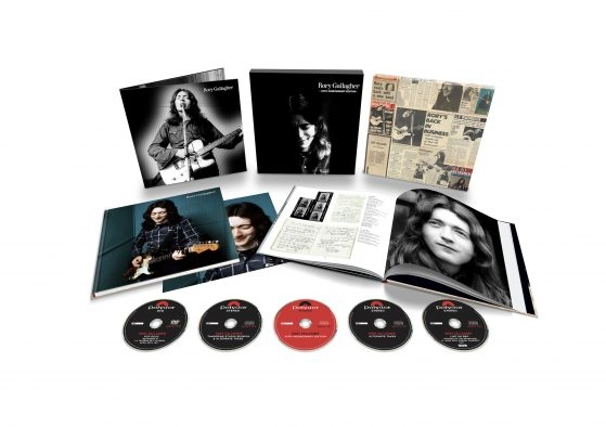Rory Gallagher 50th Anniversary Edition 4CD+1DVD DELUXE BOX SET