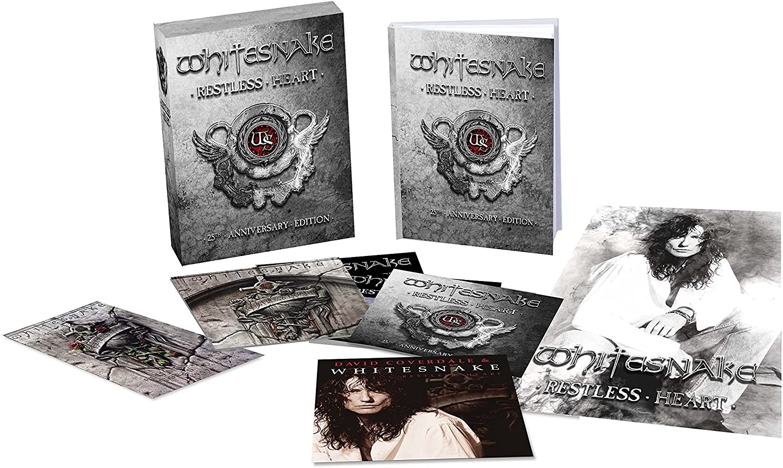 Restless Heart – 25th Anniversary Edition (4CD + DVD)