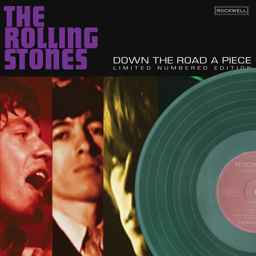 DOWN THE ROAD A PIECE 180g GREEN VINYL