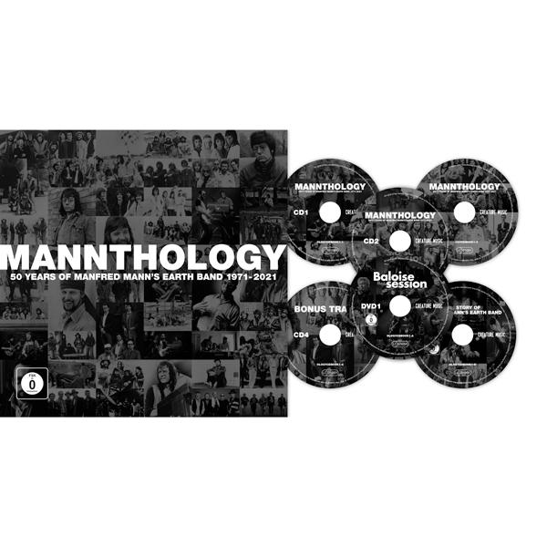 MANNTHOLOGY (4CD + 2DVD + BOOK - DELUXE SET