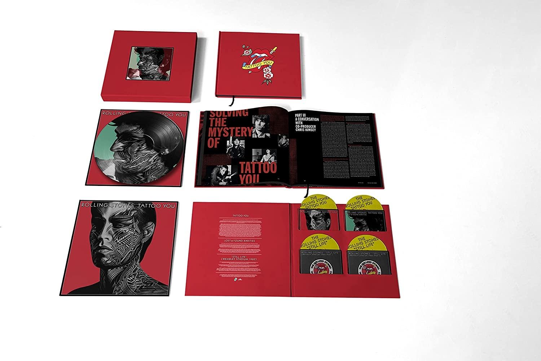 Tattoo You (40th Anniversary Remastered Super Deluxe 4CD Boxset)