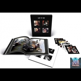 LET IT BE - 5CD+BLU-RAY SUPER DELUXE WITH BOOK