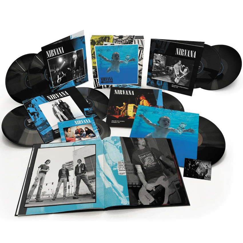 Nirvana Nevermind (30th Anniversary) Super Deluxe 5CD & Blu-Ray Video Box Set