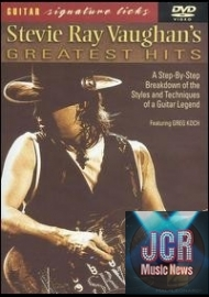Guitar Signature Licks: Stevie Ray Vaughan's Greatest Hits Featuring Greg Koch (DVD IMPORT ZONE 1)