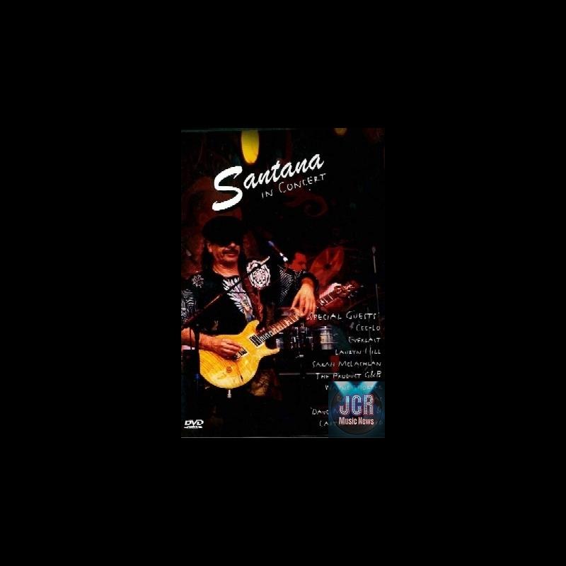 SANTANA - In Concert (DVD IMPORT ZONE 2) - JCRMusicNews