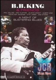 B.B. King and Friends: Night of Blistering Blues (DVD IMPORT ZONE 1 + CD)