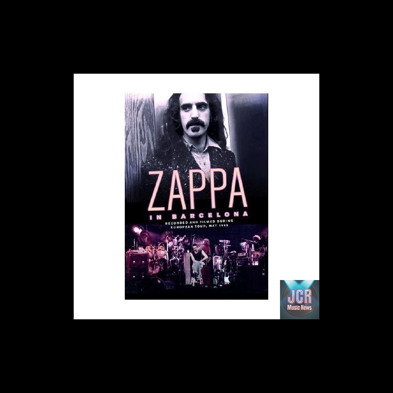 FRANK ZAPPA Mothers Of Invention In Barcelona 1986  : in barcelona 1986 dvd import zone 2 from www.jcrmusicnews.com size 800 x 800 jpeg 113kB