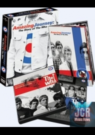 Amazing Journey - The Story Of The Who (2 DVD IMPORT ZONE 2 + livre)