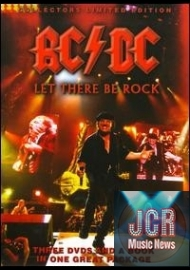 Let There Be Rock: Video (3 DVD IMPORT ZONE 2 + livre)