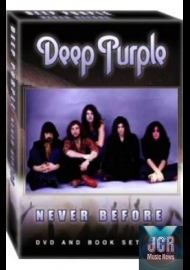 Never Before (DVD IMPORT ZONE 2 + Livre)
