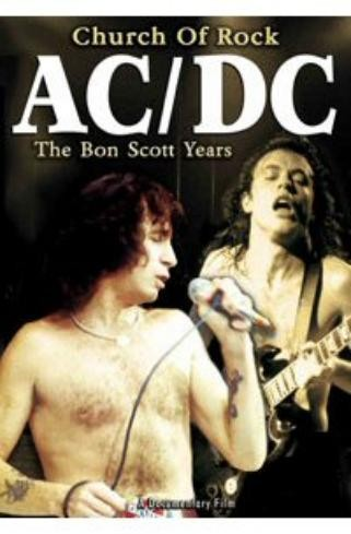 AC/DC - Church Of Rock - The Bon Scott Years AC/DC (DVD IMPORT ZONE 2) - DVD