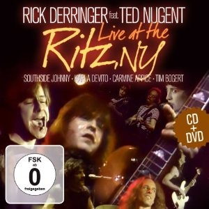 TED NUGENT (AMBOY DUKES) - Live At The Ritz NY [CD + DVD] - CD