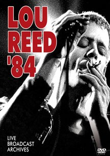 LOU REED (VELVET UNDERGROUND) - '84: Broadcast Archives (DVD IMPORT ZONE 2) - DVD