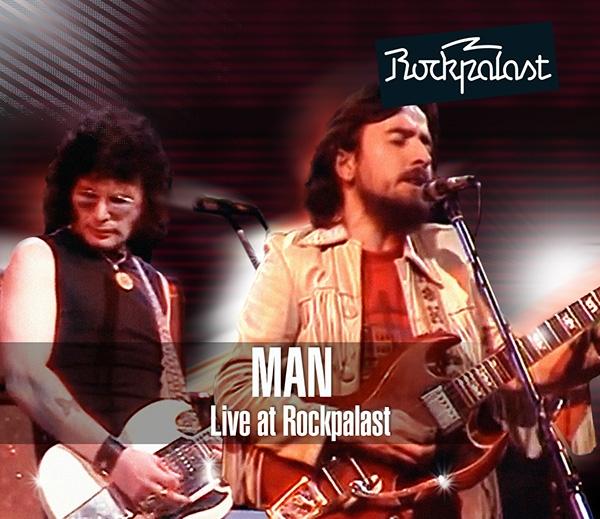 MAN - Live At Rockpalast (CD+DVD) - CD