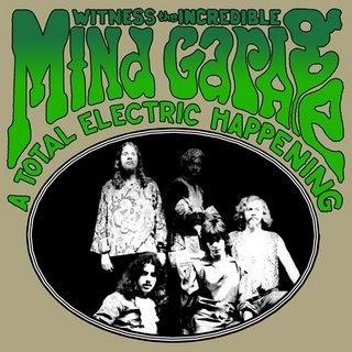 MIND GARAGE - A Total Electric Happening - CD