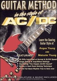AC/DC - guitar method: in the style of AC/DC (DVD IMPORT ZONE 1) - DVD