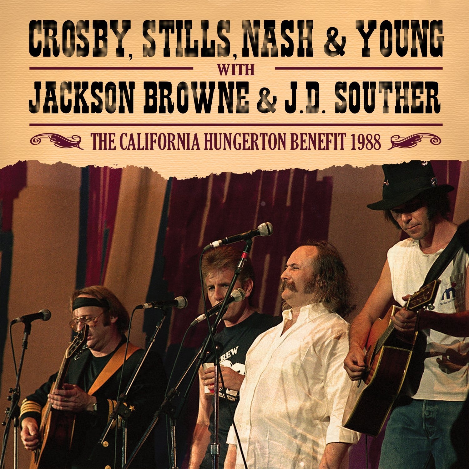 The California Hungerton Benefit 1988 By Crosby Stills