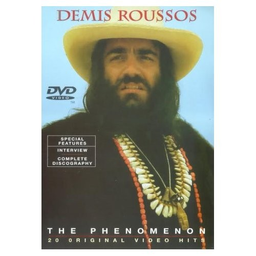 DEMIS ROUSSOS - The Phenomenon (DVD IMPORT ZONE 2) - DVD