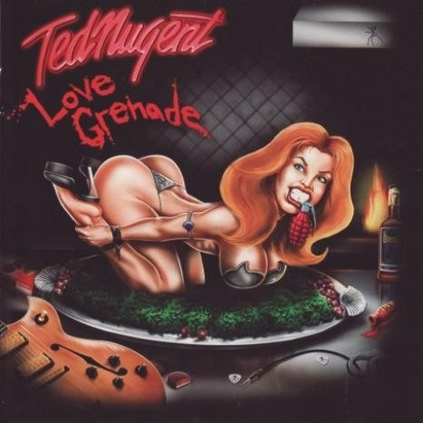 TED NUGENT (AMBOY DUKES) - Love Grenade - CD