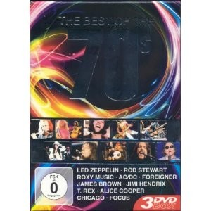 THE BEST OF THE 70'S - Ac/Dc*Alice Cooper*Led Zeppelin...(3DVD IMPORT ZONE 2) - DVD